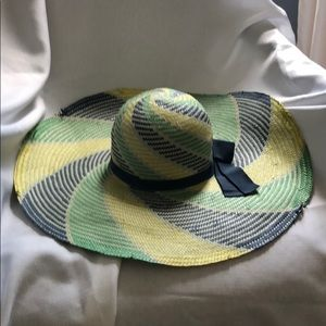 Jessica Simpson Wide Brim Floppy Hat